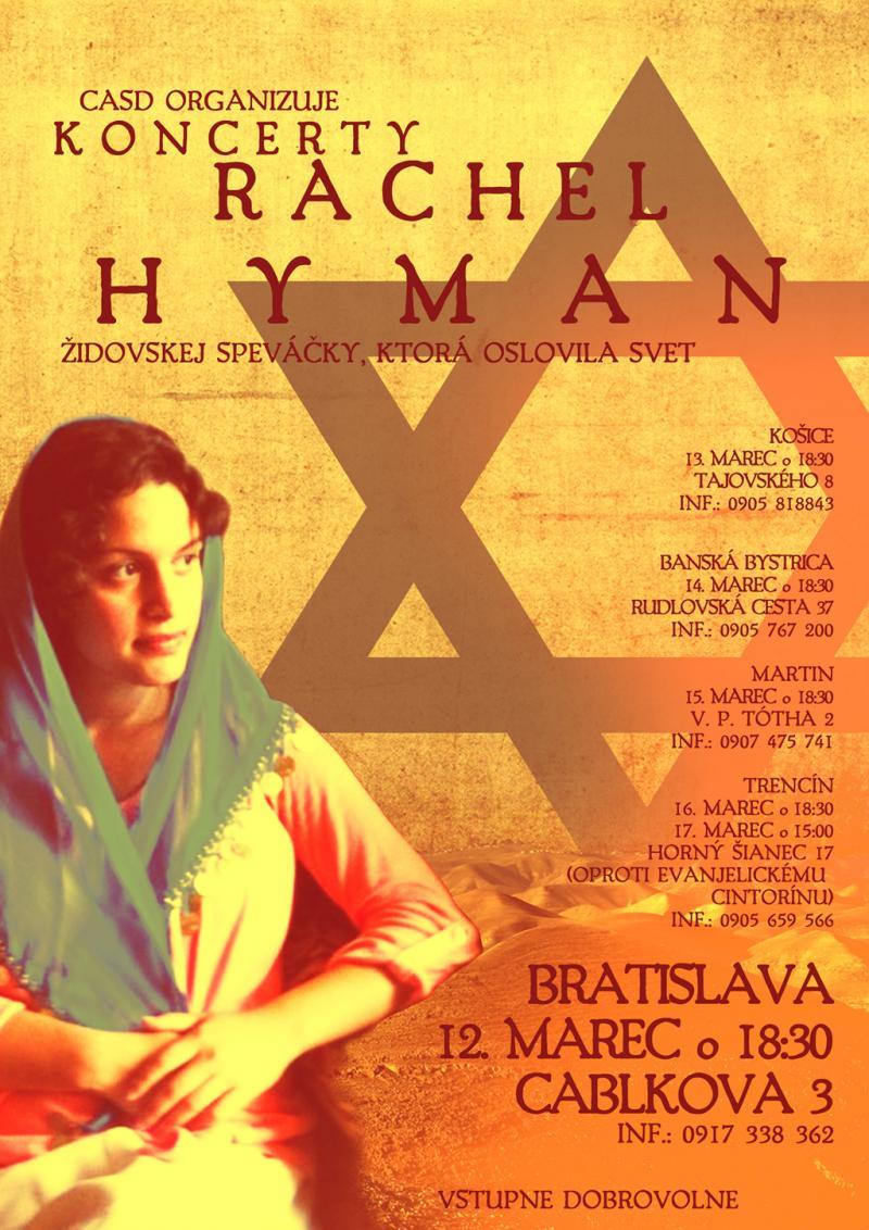 Plagat Rachel Hyman